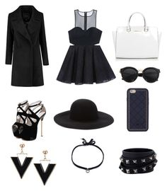 """""""Stylish !!"""" by tes-tepy on Polyvore featuring Bebe, Michael Kors, Forever 21, Tory Burch, Valentino and DANNIJO"""