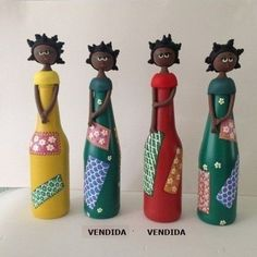 Tudo pra Casa: Reciclagem - Bonecas de Garrafa
