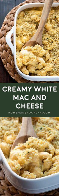 Creamy White Mac and Cheese Recipe