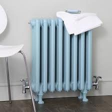 #radiator #vintage #nostalgie #lichtblauw #design #retro
