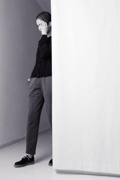 Arela SS 14 | Ruu cashmere cardigan and Rauni cotton trousers