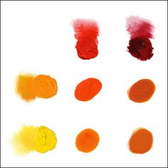 A good guide to mixing secondary colors --- oil paint. There is also a link to a beginners supply list.