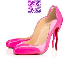 CHRISTIAN LOUBOUTIN Wawy Dolly 100Mm Shocking Patent Leather. #christianlouboutin #shoes #