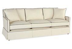 "Auburn 84"" Sofa, Cream Crypton fabric Settee Sofa, Sectional Sofa, Sofas, Crypton Fabric, Cream Sofa, Living Room Remodel, Outdoor Sofa, Living Room Furniture, Love Seat"