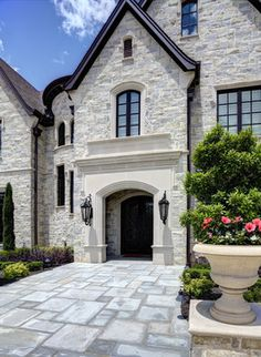 Exterior - Stone - Dallas - By Simmons Estate Homes