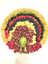Image result for celery with peanut butter arrangement for thanksgiving