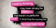 Kick-start Your Creative Thinking Process