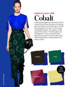 InStyle Color Course: Colbalt