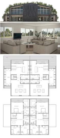 plan de maison duplex                                                                                                                                                                                 More