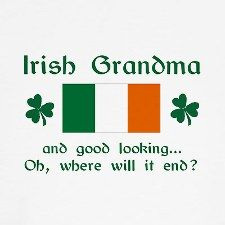 Irish, for me little we bit, me Abby, is me girl;)