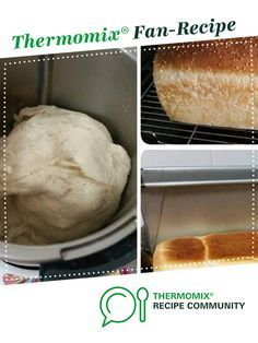 Jumbo White Bread Loaf - Thermomumma - replace bread improver with 2 tsp apple cider vinegar or leave out Dough Recipe, Cobb Loaf, Bread Improver, Thermomix Bread, Bread Recipes, Cooking Recipes, Bellini Recipe, Bun In The Oven