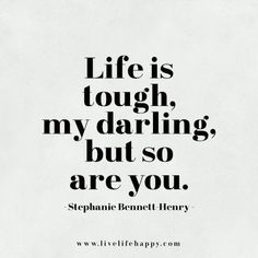 Life is tough, my darling, but so are you. #LifestyleOnline Be seen, gain more leads & increase your revenue.Learn to use social media for business with @LifestyleOnline