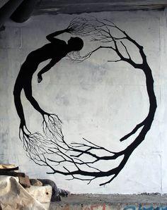 Arte-Graffiti de David De La Mano y Pablo S. Herrero In Porto, Portugal. 2