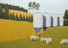Merinos on Greenway - artist Isabelle Devos /