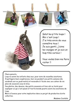 Le cahier de vie de Petit Loup September Activities, French Expressions, Petite Section, Nursery School, Ms Gs, Preschool, Teaching, Education, Albums