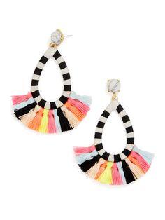 cutest tassel earrings
