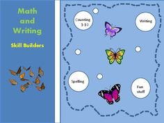 Need to practice WRITING and COUNTING with a touch of fun stuff- then this 13 page collection is for you! Contents:6 coloring pages How many butterflies ?  Count & circle 1-5How many butterflies? Count & write 1-5Which set has the most? Count & compare 1-8Which set has the least?