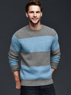 Gap | Textured rugby crew sweater