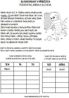 Martina Chlumová's media statistics and analytics Numbers For Kids, Grammar, Montessori, Homeschool, Letters, Teaching, Activities, Education, History