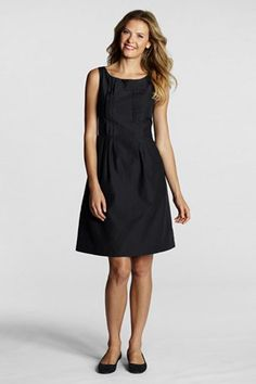 Land's End version of the little black dress.  Looks cute - not sure about the length.