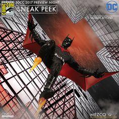 MEZCO – ONE:12 COLLECTIVE 系列【未來蝙蝠俠】Batman Beyond 1/12 比例人偶作品 | 玩具人Toy People News