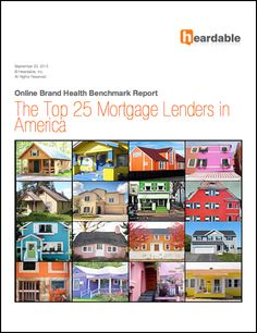 The Top 25 Mortgage Lenders in America. Published: September 20, 2012 Length: 267 pages, 100+ charts Author: Jon Samsel
