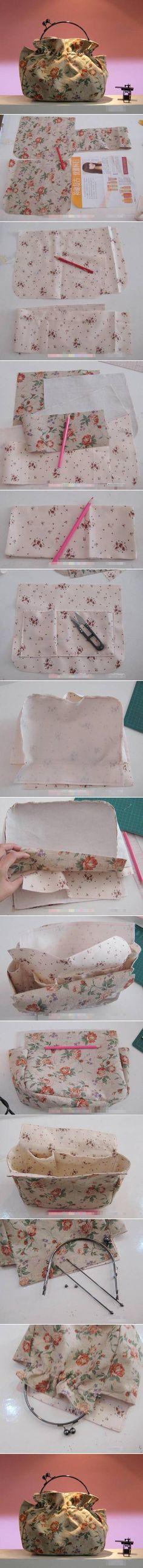 DIY Simple Handmade Handbag