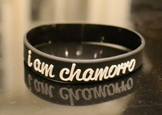 I AM CHAMORRO RUBBER BRACELET – I Am Chamorro