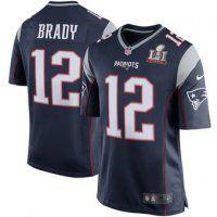 Men's New England Patriots Tom Brady Navy Super Bowl LI Bound Ga