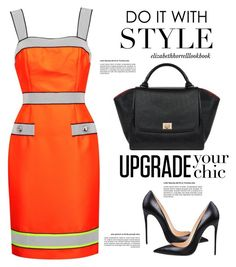 """""""STYLED BY LIZ"""" by elizabethhorrell ❤ liked on Polyvore featuring Moschino"""