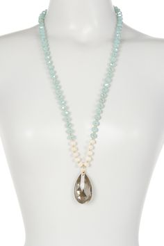 Madison Parker - Crystal Drop Pendant Necklace. Free Shipping on orders over $100.