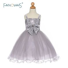 f9449d7439 Click to Buy    Flower Girl Dresses Princess Pageant Dresses Ball Gown Bow