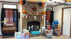 DIY Halloween Themed Baby Shower Decor Ideas. Overview of some of the gifts I received.