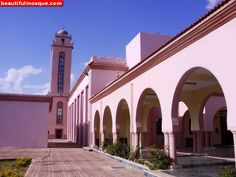 Gaddafi Mosque in - The largest mosque in Tanzania African Great Lakes, Islamic Center, Dar Es Salaam, Great Lakes Region, Beautiful Mosques, Place Of Worship, East Africa, Business Travel, Tanzania