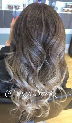 Summertime would be much more fun and colorful with a new hair color. Even simple highlights or balayage can create really face framing and fresh style. Black Hair Ombre, Blond Ombre, Balayage Hair Blonde, Ombre Hair Color, Ash Blonde, Hair Colour, Natural Dark Hair, Gents Hair Style, Style Hair
