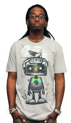 Play My Musical Robot T-shirt by rpcabardo from Design By Humans - $22
