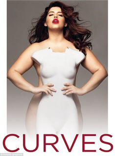 Famous faces: Plus-size model Denise Bidot, 29, stars on the cover of Victoria's body-posi...