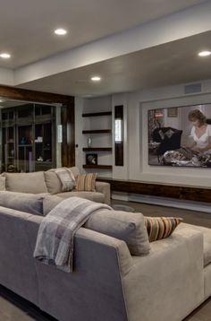 33 Basement Lighting Ideas | Sebring Design Build Basement House, Basement Stairs, Basement Bedrooms, Basement Ideas, Laundry Room Lighting, Basement Lighting, Small Basements, Finished Basements, Basement Finishing Systems