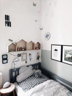 r # kids # schwarzweiß - Home_Kids_Интерьеры - Kinderzimmer Boys Room Decor, Kids Decor, Girl Room, Girls Bedroom, Teen Bedrooms, Kids Bedroom Furniture, Bedroom Ideas, Kid Spaces, Furniture Online