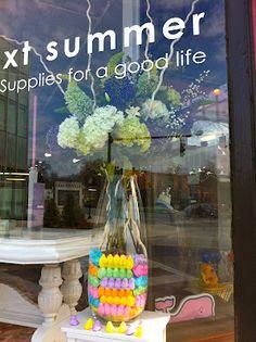 Peeps vase at next summer