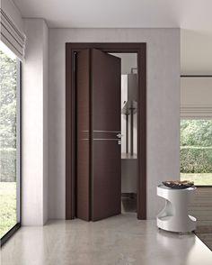 puerta de madera preciosa