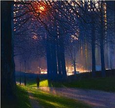 Andrew Gifford - Green Park - Golden Haze 2012