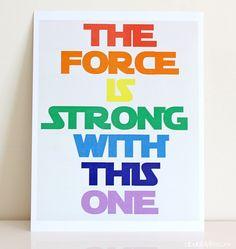 Gratis plakat til star wars fansene derude - flere farvetemaer at vælge imellem.