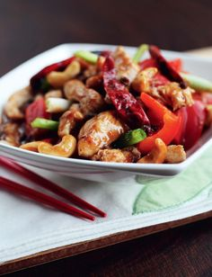 Palatial Guardian of Sichuan, Kung Po Chicken Recipe by Ching-He-Huang for Lunar New Year