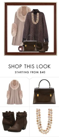 """Untitled #1651"" by ebramos ❤ liked on Polyvore featuring Hermès, Rocket Dog and Viktor & Rolf"