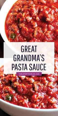 This pasta sauce is like liquid gold. It's the most delicious, rich, flavorf… This pasta sauce is like liquid gold. It's the tastiest, richest, spiciest pasta sauce I've ever had in my life. This pasta sauce came from Jason's great-grandmother from Italy. Pasta Sauce Recipes, Spaghetti Recipes, Red Pasta Sauce, Lasagna Sauce Recipe, Easy Pasta Sauce, Red Sauce Recipe For Pasta, Pasta Sauce Dinner Ideas, Arabiatta Sauce Recipe, Best Tomato Sauce Recipe