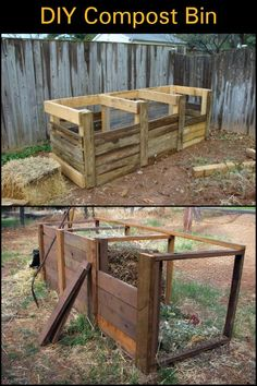 By building your own compost bin you're not only making your garden and produce happy, but the environment as well.