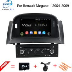 Quad Core Android 5.1 car audio FOR RENAULT Megane II/Fluence car dvd player head device car multimedia car stereo GPS Maps