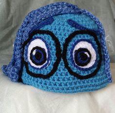 Inside Out Sadness Crochet Pattern