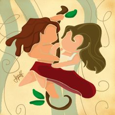 Tarzan e Jane by ~JePDF on deviantART